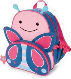 For the Little Ones: Skip Hop Zoo Pack Backpack - Butterfly @Barnes&Noble