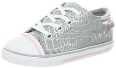 umi Terri Lace-up Sneaker (Toddler/Little Kid/Big Kid),Silver,35 EU(3 M US Little Kid) umi. $44.95. Textile/Synthetic. cushioned insole. flexible outsole. N/A. Rubber sole. Made in Vietnam. Non-marking outsole