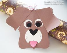 Stampin' Up!  Top Note Puppy  Stacey Rose