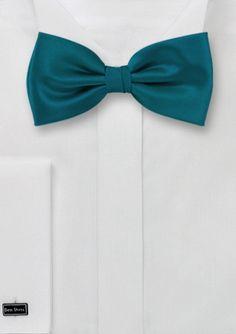 Designer Bow Tie in Peacock