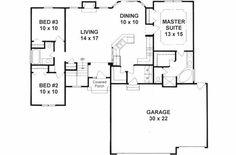 Craftsman series g house plans cottage plans floor plans for Half basement house plans