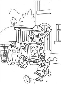 Bob The Builder Coloring Page Photos
