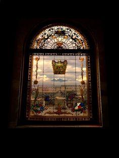 Window 160 X Created by Fatbardh Marku Tiffany Glass, Stained Glass, Windows, Frame, Home Decor, Picture Frame, Decoration Home, Room Decor, Stained Glass Panels