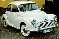 1960 Morris Minor - My first car .mine was Medium Blue it had an Austin Healy Sprite Engine.it was fast . first time I drove it, I did a wheelie. Classic Cars British, Classic Trucks, My Dream Car, Dream Cars, Morris Minor, Cars Uk, Vintage Wedding Theme, First Car, Small Cars