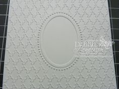 Debbie& Designs: Tuesday Tips or Techniques-Double Embossing! Card Making Tips, Card Making Tutorials, Card Making Techniques, Making Tools, Embossed Business Cards, Embossed Cards, Homemade Birthday Cards, Homemade Cards, Embossing Techniques