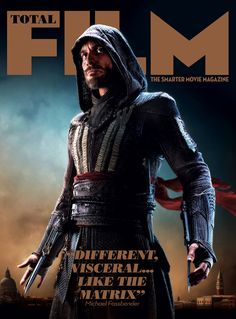 ASSASSIN'S CREED Lands The Cover Of Total Film Magazine & Debuts A Ton Of New Stills  #Michael Fassbender