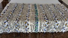 "75""X41"" Moroccan wedding blanket wool  / Moroccan interior design / Handira wedding blanket"