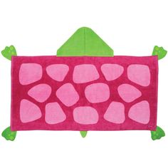 How cute would your little girl look wrapped up in one of these hooded beach towels!
