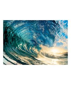 Another great find on #zulily! The Perfect Wave Wall Mural #zulilyfinds