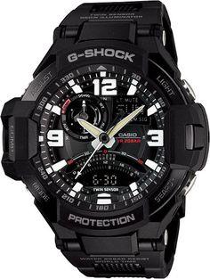 Mens G-Shock Twin Sensor Digital Compass Gravity Defier Aviator watch by Casio // Free Shipping within Australia