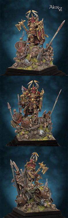 Harry The Hammer Figurine Warhammer, Warhammer 40k Figures, Warhammer Paint, Warhammer 40k Miniatures, Warhammer Fantasy, Fantasy Battle, Fantasy Warrior, Medieval Fantasy, Fantasy Art