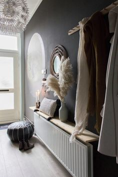 Hal make-over met Tranquil Dawn - Juudithhome- interieur & styling Color Of The Year, Hanging Chair, Interior Styling, Furniture, Home Decor, Style, Autumn, Interior Decorating, Swag