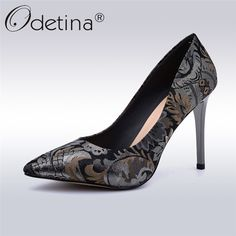 bd8c750a165e Find More Women s Pumps Information about Odetina Spring Autumn New Fashion  High Heels For Women 10cm