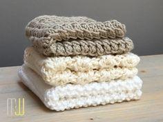 Spültücher stricken - jeden Monat ein neues Muster #designhoch12
