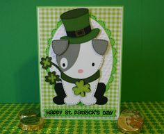 St. Patrick's Day Card with saying from Holiday Occasions stamp set from JoysLife.com