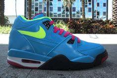 "Nike Air Flight 89 ""London"" (Dynamic Blue/Volt/Fireberry-Black)"