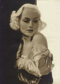 Carole Lombard  C. 1930s - if you happpen to know re: her and Clark Gable...heartbraking & defininitely a heroine...