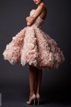Une robe en tulle ? Magnifique !