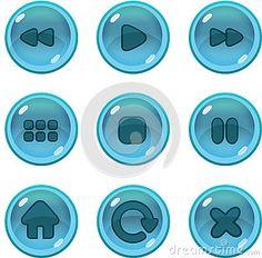 Game UI icons gui                                                       …
