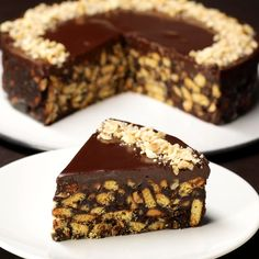 Chocolate Biscuit Cake Without Baking A sweet dessert … – Pastry World Sweet Desserts, No Bake Desserts, Delicious Desserts, Yummy Food, Small Desserts, Easy Cake Recipes, Sweet Recipes, Dessert Recipes, Keto Recipes
