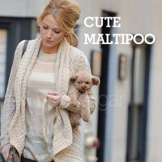 Blake Lively and her Maltipoo (so cute)
