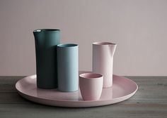 Mud Australia, ceramics in pastels and muted colours