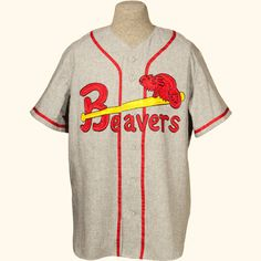 1957 Portland Beavers road Jersey Major League Baseball Teams 7de9838d2