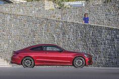 Das Mercedes AMG C43 4Matic Coupé ist 4,67 Meter lang