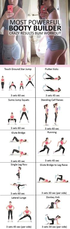 #booty #workout Abs Workout Challenge, Mom Workout, Everyday Workout, Workout Fitness, Fitness Routines, Easy Fitness, Vida Fitness, Fitness Plan, Fitness Goals