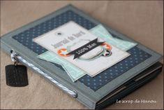 Manuscrap, minialbum per un maschietto