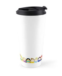 """""""Pretty Princesses Line Up"""" Travel Mugs by LaurasLovelies 