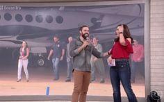 """Lucas Valença, o """"Hipster da Federal"""", foi ao programa Encontro com Fátima Bernardes nesta segunda-feira (24) (Foto: Reprodução TV Globo)"""