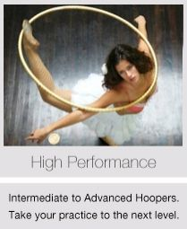 High-performance hoops by Hoopnotica are lighter and faster, for high power moves.