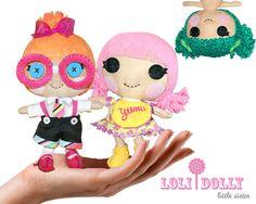 Loli+Dolly+Little+Sister+Pattern+eBook+by+QuirkyArtistLoft+on+Etsy,+$12.00