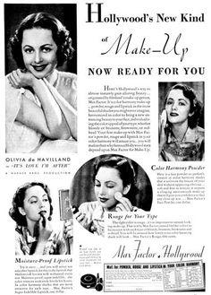 1937 Max Factor Hollywood