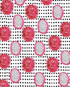 Pitaya #illustration #fruit