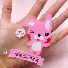 Clear Gift Bags w/ Kawaii Rabbit Bunny 20pcs / by MiniatureSweet