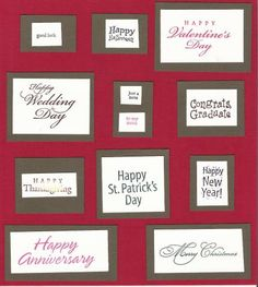 All Year Cheer 3 Index by galleryindex - Cards and Paper Crafts at Splitcoaststampers