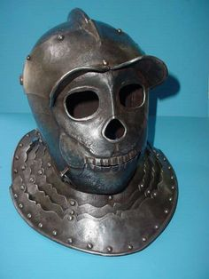 The original Savoyard Totenkopf helmet, 1600's.