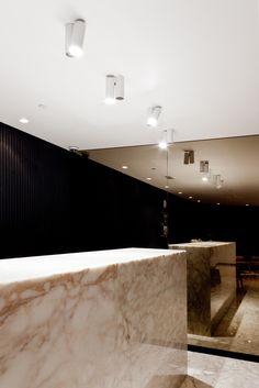 The Yoga Center, Reception | Kuwait City | Interior Design 2013