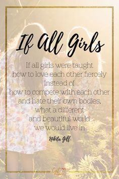 Girls | Quote | Mean Girls | Inspiration | Guidance | Compassion