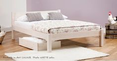 White Knight Bed £193 getlaidbeds.co.uk