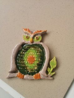 Hand crafted owl