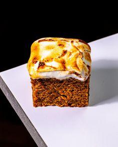Vegan Sweet Potato Cake with Marshmallow Fluff! - School Night Vegan Potato Cakes, Healthier Desserts, Marshmallow, Sweet Potato, Potatoes, Vegan, Healthy, Potato Croquettes, Potato Patties