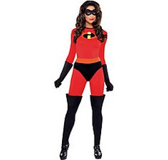 Find great Halloween costumes for all ages and sizes. Shop for 2019 adult costumes, Halloween costumes for kids, sexy plus size costumes, costume accessories, and more. Superhero Halloween Costumes, Hallowen Costume, Halloween Kostüm, Adult Costumes, Women Halloween, Halloween Outfits, Superhero Costumes Women, Bambi Costume, 1950s Costumes