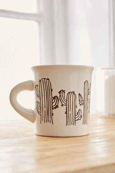 Cactus Diner Mug