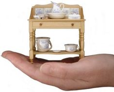 Quality in Miniature - a profile of Stokesay Ware by Linda Willis - Dolls' Houses Past & Present