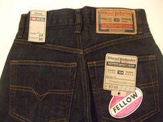 Nothing nicer than a pair of #Dieselbrand men's denim blue jeans! Diesel is always a top pick for men's casual style!