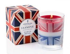 Union Jack Candle, wedding favour ideas
