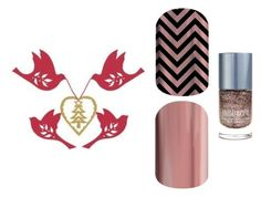 """12 Days of Christmas - Jamberry"" by kspantonjamon on Polyvore featuring beauty"